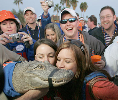 At Florida, even mammals get in on the fun