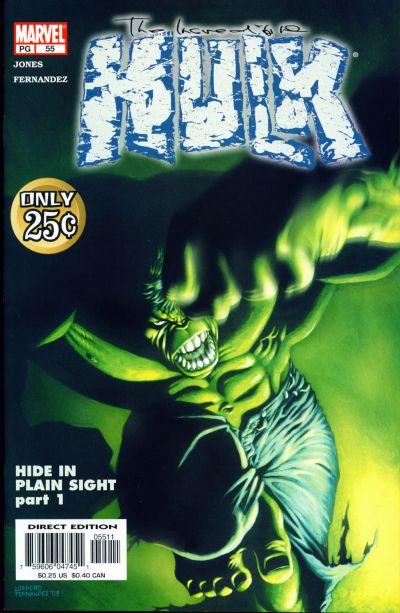 Incredible Hulk 55 cover