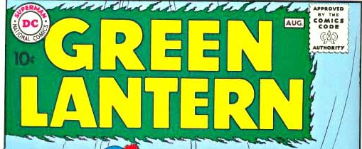 Green Lantern Silver Age logo
