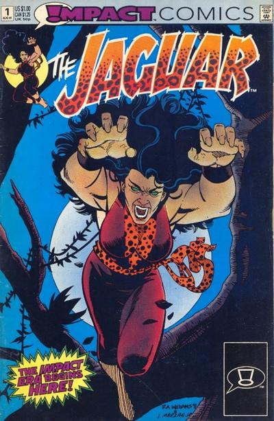 Jaguar Issue Number One Impact Comics Cover